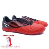 Sepatu Futsal Specs Barricada Genoa 19 Fs (Emperror Red/Black/White)