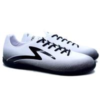 Sepatu Futsal Specs Eclipse 19 IN - White/Black/AshGrey