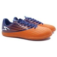 Sepatu Futsal Specs Barricada Genoa 19 Fs (SOrange/Galaxy Blue)