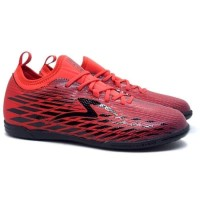 Sepatu Futsal Specs Swervo Venero 19 IN (Emperor Red/Burgundy/Black)