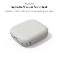 Xiaomi SOLOVE 10000mAh W5 Qi Wireless Charger Power Bank