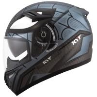 Helm KYT K2rider Spiderman black doff fullface K2 Rider spider man