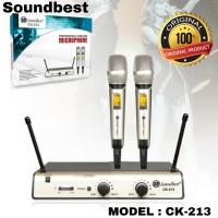 Mic Wireless soundbest CK-213 Original