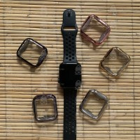Apple Watch Front TPU Soft Case Electroplating