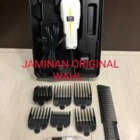 mesin alat pencukur potong rambut wahl super taper ORIGINAL KOMPLIT qa