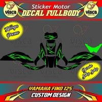 DECAL MOTOR FULLBODY MOTOR YAMAHA FINO 125 CUSTOM DESIGN