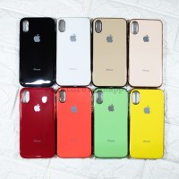 Silicone Candy Metalic Case Iphone 6 6S 7 8 X XS MAX XR