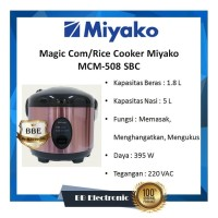 Magic Com/Rice Cooker Miyako MCM-508 SBC