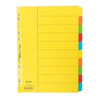 Divider 10 warna bantex / Pembatas kertas