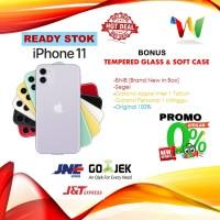 [DUAL SIM] iPhone 128GB /128 GB 11 Black White Yellow Red Green Purple