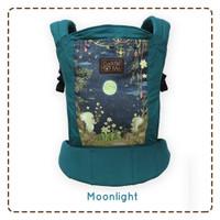 lite carrier cuddle me gendongan bayi ssc cuddleme motif moonlight