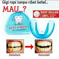 Orthodentic Retainer Teeth - Trainer Alignment - Behel Merapikan Gigi