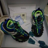 "Balenciaga Track Sneakers Green Mesh"" Unauthorized Authentic"