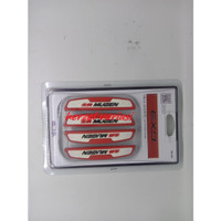 door guard red mugen car protector door