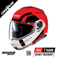 Nolan N100-5 CONSISTENCY N-COM Col. 023 (CORSA RED)