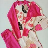 baju renang anak muslimah tanggung usia dibawah 12th motif