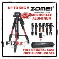 Tripod Kamera DSLR Mirrorless ZOMEI Q111 Professional Portable Travel.