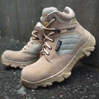 Sepatu MOTEC BOOTS SAFETY BOOTS UJUNG ADA BESI SEPATU TACTICAL DELTA P