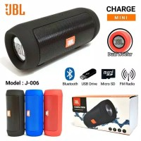 SPEAKER BLUETOOTH PORTABLE CHARGE MINI 2+ JBL J006 DUA Woofer