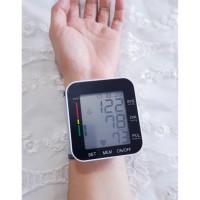 Tensimeter Digital alat ukur tekanan darah di pergelangan tangan wrist