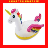 Pelampung Intex Unicorn Ride On Floaties - Ban Renang Anak Kuda Pony