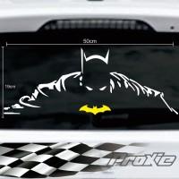 Cutting sticker mobil batman termurah dan terkeren