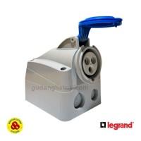 LEGRAND 555254 Surface Mounting Socket 1 Phase 32A IP44 2P+E 3 PIN