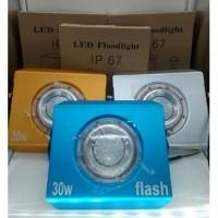 Lampu Sorot LED Metalik, 30WATT (Waterproof)