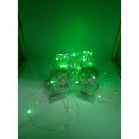 Lampu Natal Led Tembaga 100 LED Waterproof Baterai