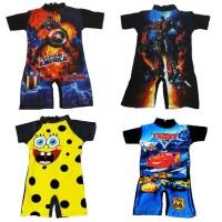 TERMURAH Baju renang diving anak batita cowok laki- laki karakter -