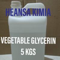 VG / VEGETABLE GLYCERIN 5 KG