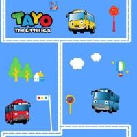 Wallpaper Dinding Anak Motif Bus Tayo Kid S