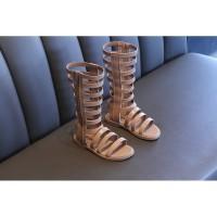 SHOG 0256 Sepatu Sendal Anak Import Premium Gladiator Series 2 Hazelnu