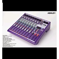 MIXER ASHLEY MDX8 8 CHANNEL USB BLUETOOTH MDX 8 ORIGINAL