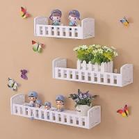 Wall Shelf / Rak Dinding Minimalis (Dapat 3 Pcs)