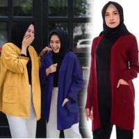 Damai fashion jakarta - baju CARDIGAN wanita JODIE 3 warna - konveksi