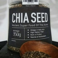 Black Chia Seeds 350 gram Chia seed super foods
