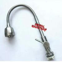 Kran Angsa Tanam fleksibel stainless 304-Keran air sink stenles Favios