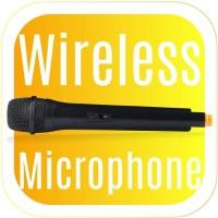 Mic Wireless Khusus Speaker Karaoke Dazumba Type Wireless