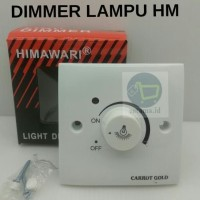 Dimmer Switch 630W + Indicator Lamp HIMAWARI