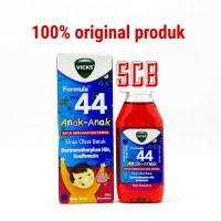 Vicks Formula 44 Anak Syrup 54ml - Sirup Obat Batuk