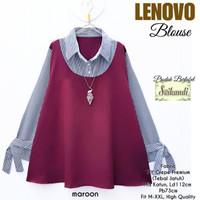 Lenovo Blouse - Atasan Wanita Muslim - Blouse Polos - Blouse Remaja