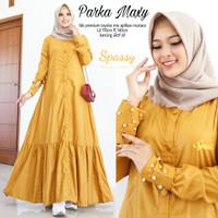 Parka Maxy - Gamis Dress - Gamis Polos - Big Size - Gamis Murah