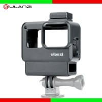 Ulanzi V2 for Gopro Hero 7 6 5 Plastic Housing with Extend Microphone
