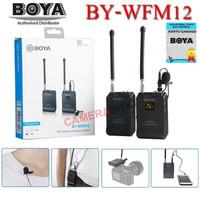 Mic Boya BY WFM12 Wireless Clip on for smartphone mirrorless kamera