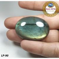 Lepasan Batu Natural Labradorite LP-90