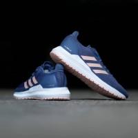 Sneakers Wanita Adidas Solar Blaze Steel Blue Original Termurah