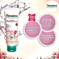 HIMALAYA CLEAR COMPLEXION WHITENING FACE WASH 100ML BPOM W
