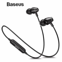 BASEUS S09 Bluetooth Wireless Earphone Headset ENCOK Magnetic