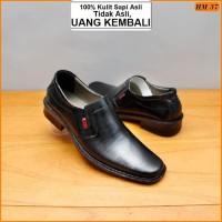 Sepatu Pantofel Pria Sepatu Kulit Asli Pria Sepatu Kerja Pria Kantor M